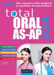 Je prépare ; total oral AS-AP ; concours aide-soignant et auxiliaire de puériculture (édition 2019) - Couverture - Format classique