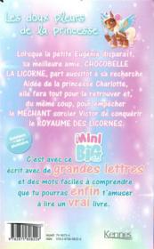 Chocobelle la licorne - 4ème de couverture - Format classique