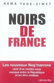 Noirs De France - Intérieur - Format classique