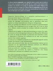 Le Symptome Psychosomatique Un Langage Du Corps A Decoder - 4ème de couverture - Format classique