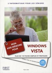 Mon aide-mémoire pour utiliser Windows Vista - Intérieur - Format classique