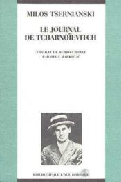 Journal De Tcharnoievitch (Le) - Couverture - Format classique