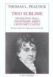 Trio sublime - Intérieur - Format classique