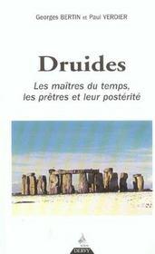 Druides les maitres du temps - Intérieur - Format classique