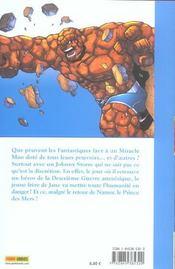 Fantastic Four T.1 ; drôle de famille - 4ème de couverture - Format classique