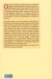 Echantillons Tubes De Parfum. Cote Et Répertoires - 4ème de couverture - Format classique