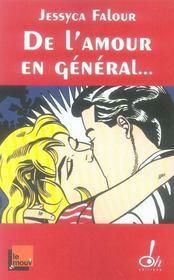 De l'amour en général et du sexe en particulier - Intérieur - Format classique