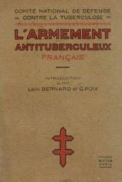 L'armement antituberculeux français - Couverture - Format classique
