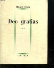 Deo Gratias. - Couverture - Format classique
