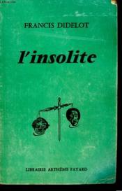 L'Insolite. - Couverture - Format classique