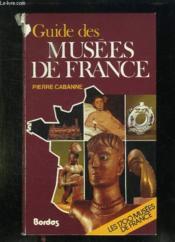 Guide des musées de France - Couverture - Format classique