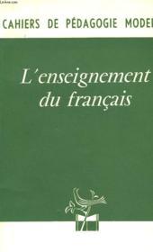 L'Enseignement Du Francais - Couverture - Format classique