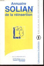 Annuaire Solian De La Reinsertion - Couverture - Format classique