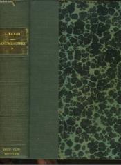 Antimemoires. Tome 1. - Couverture - Format classique