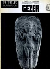 Bible Et Terre Sainte N°116 : La Grande Cite Cananeenne Donnee En Dot A Salomon Gezer - Couverture - Format classique