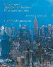 Gottfried salzmann paysages urbains - Couverture - Format classique