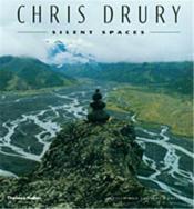 Chris drury silent spaces - Couverture - Format classique
