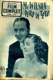 TOUS LES JEUDIS - FILM COMPLET N° 248 - Mr. WILSON PERD LA TETE - Couverture - Format classique