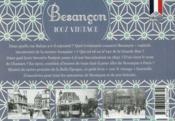 100% VINTAGE ; Besancon à travers la carte postale ancienne - 4ème de couverture - Format classique
