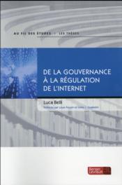 De la gouvernance à la régulation de l'Internet - Couverture - Format classique