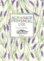 Almanach provencal 2000 - Couverture - Format classique