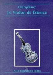 Le violon de faïence - Couverture - Format classique