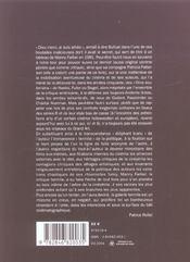 Espace négatif - 4ème de couverture - Format classique
