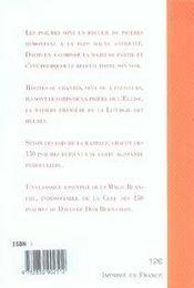 Les 150 psaumes de david - 4ème de couverture - Format classique