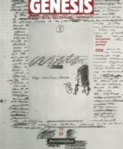 Genesis N.13 - Couverture - Format classique