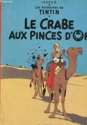 Les aventures de Tintin T.9 ; le crabe aux pinces d'or - Couverture - Format classique