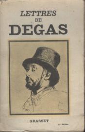 Lettres De Degas - Couverture - Format classique
