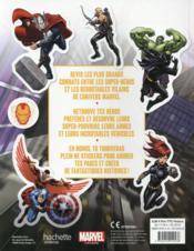 Marvel ; ultimate stickers ; super combats - 4ème de couverture - Format classique