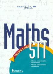 Maths Term Stt Communic. 2003 - Intérieur - Format classique