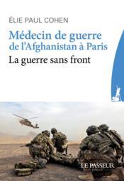 Médecin de guerre de l'Afghanistan à Paris - Couverture - Format classique