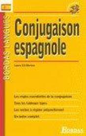 Conjugaison espagnole - Intérieur - Format classique