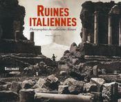 Ruines italiennes - Intérieur - Format classique