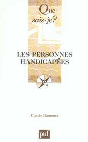 Personnes handicapes (4e ed) (les) (4e édition) - Intérieur - Format classique