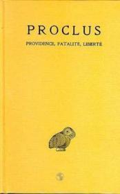 Trois études sur la providence t.2 - Couverture - Format classique