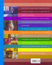 La courleur en décoration ; les conseils pour réussir son intérieur - 4ème de couverture - Format classique