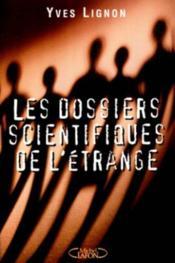 Dossiers Scientifiques De L'Etrange - Couverture - Format classique