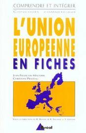 L'Union Europeenne En Fiches - Intérieur - Format classique
