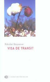 Visa De Transit - Intérieur - Format classique
