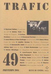 Revue Trafic N.49 - Intérieur - Format classique