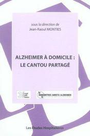 Alzheimer A Domicile : Le Cantou Partage - Intérieur - Format classique