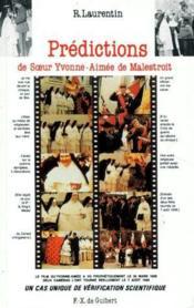 Prédictions de Soeur Yvonne-Aimée de Malestroit - Couverture - Format classique