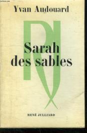 Sarah Des Sables. - Couverture - Format classique