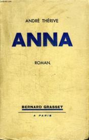 Anna. - Couverture - Format classique