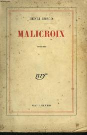 Malicroix. - Couverture - Format classique