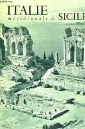Italie Meridionale Et Sicile - Couverture - Format classique