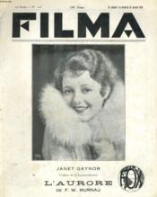 Filma 20e Annee - N°226 - Couverture - Format classique